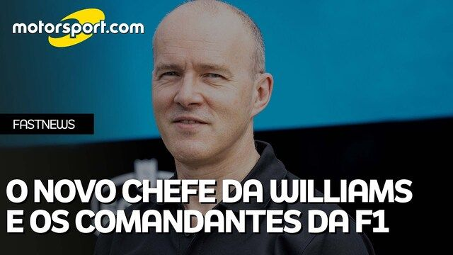 O novo chefe da Williams