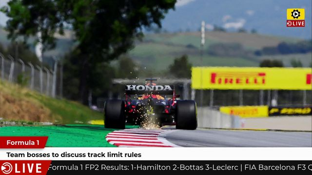F1: Team bosses to discuss track limit rules