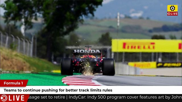 F1: Teams to continue pushing for better track limits rules