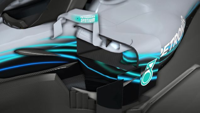 F1-Technik: Die Mercedes-Updates