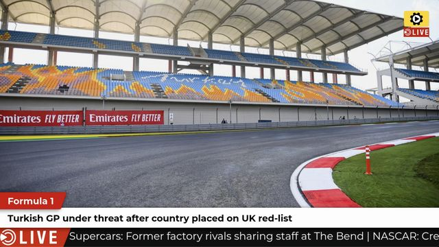 F1: Turkish GP under threat due to UK red-list