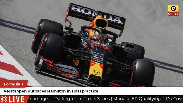 F1: Verstappen leads in FP3 at Spanish GP
