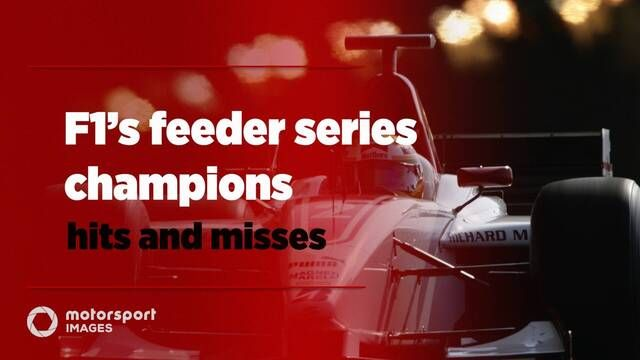 F1's feeder series champions – hits and misses