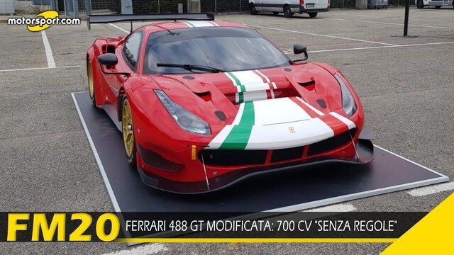 Ferrari 488 GT Modificata: 700 CV