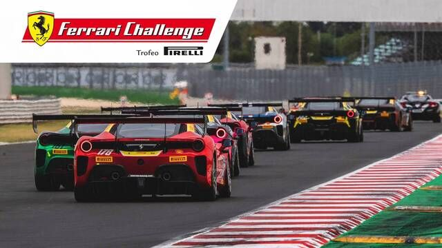 Ferrari Challenge Europe: Misano - Trofeo Pirelli - Race 2 highlights
