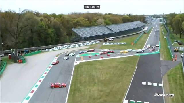 Ferrari Challenge Europe: Monza - Coppa Shell Race 1 highlights