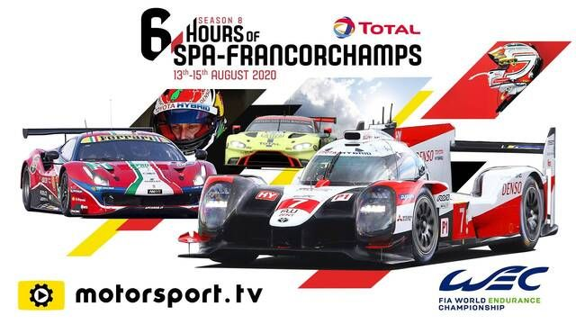 FIA WEC: 6 Hours of Spa - Lap of Circuit Spa-Francorchamps