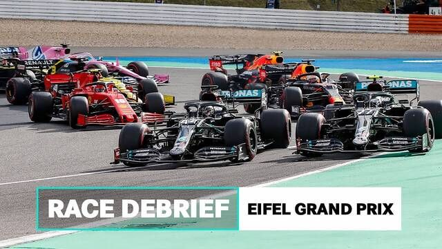 First Lap Battles, Power Unit Problems & More | 2020 Eifel GP F1 Race Debrief