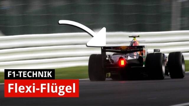 Formel-1-Technik: Flexi-Wings