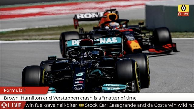 Formula 1: Brown on leaders rivalry
