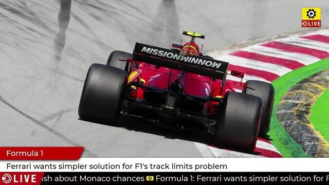 Formula 1: Ferrari wants simpler solution for limits problem