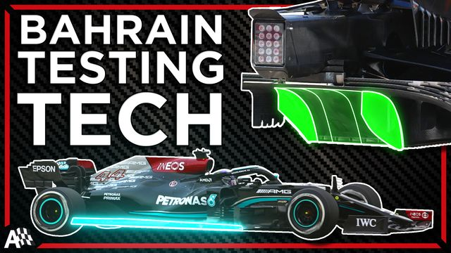 Formula 1's Most Interesting Testing Tech: McLaren's Diffuser, Mercedes' Scalloped Floor + More