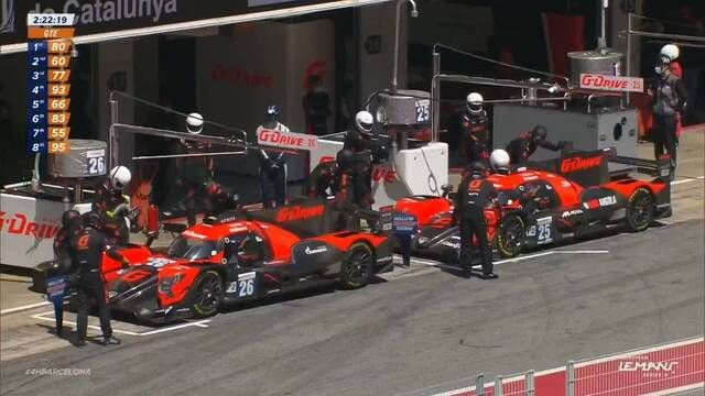 G-Drive have drama in the pits