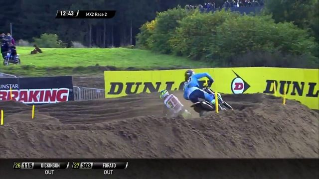 Geerts crasht in MXGP van Limburg
