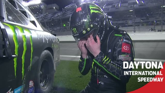 Gibbs emotional after first Xfinity Series career win: 'Dream come true for me'