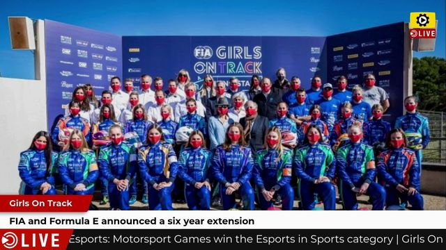 Girls On Track: FIA and Formula E announced a six year extension