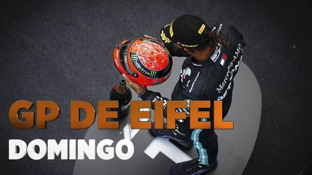 GP de Eifel F1 resumen del domingo