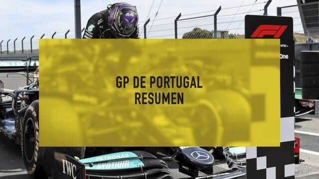 GP de Portugal F1 resumen