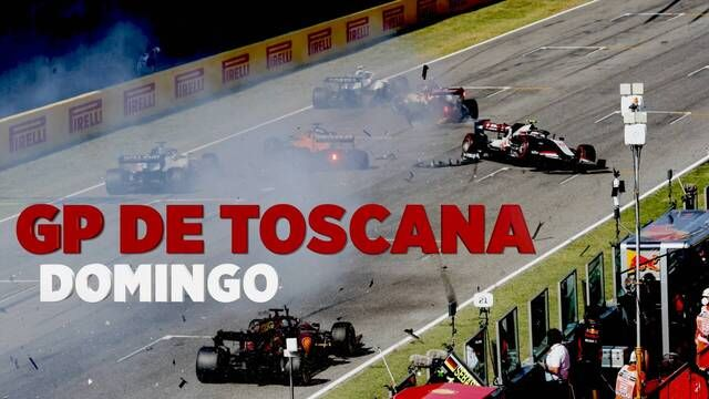 GP de Toscana F1 resumen domingo