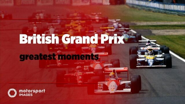Grand Prix Greats – British GP best photos