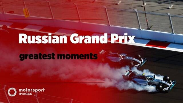 Grand Prix Greats – Russian GP best photos