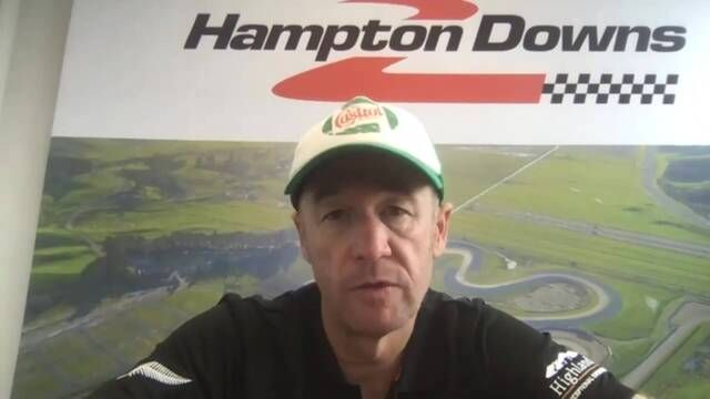 Greg Murphy on the eve of the NZGP 2021
