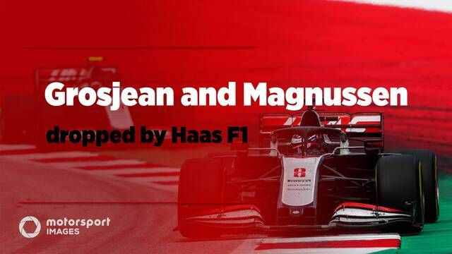 Grosjean and Magnussen dropped by Haas F1