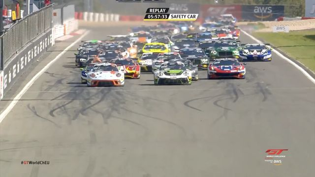 GT World Challenge Europe: Nürburgring - Race Start