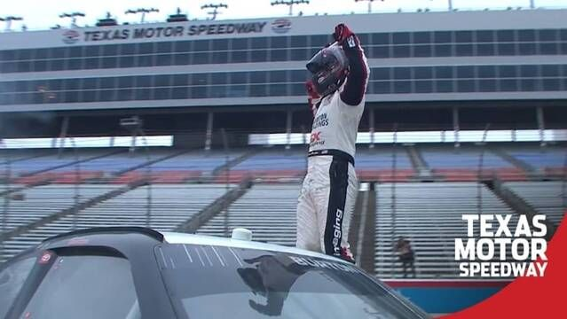Harrison Burton on Texas win: 'Never driven anything harder'