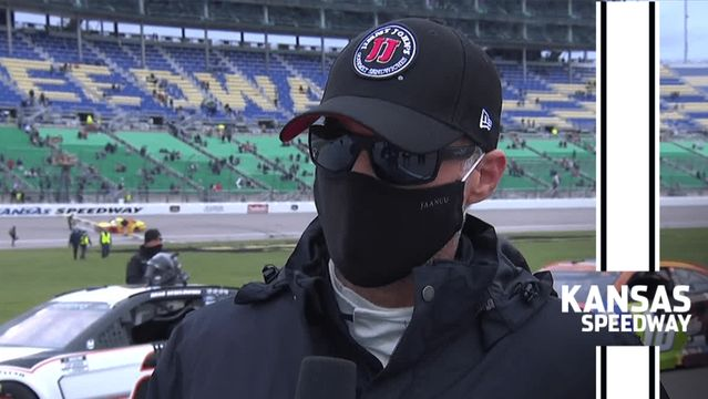 Harvick: 'Joey's a good blocker'