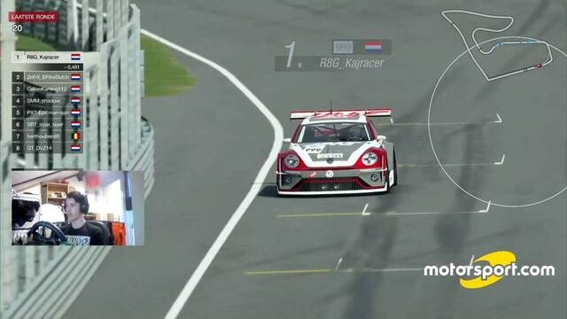 Highlights: Red Bull Ring decor voor wiel-aan-wiel-race in Volkswagens