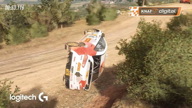 Highlights: Valse start en koprollen in stoffige Griekse rally