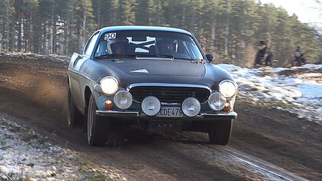 Historic Volvo Rallying