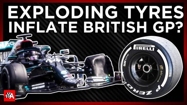 How Exploding Tyres Inflated The British GP