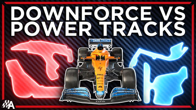 How Formula 1 Setups Change For Downforce Vs Power Tracks