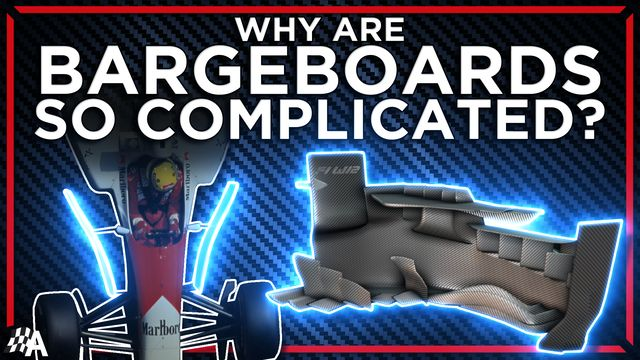 How Formula 1's Bargeboards Became So Complicated
