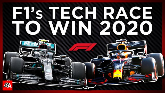 How Mercedes and Red Bull Upgraded Their Aero Tech | F1 2020 Tech Review