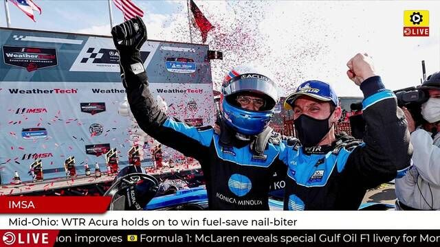 IMSA: WTR wins race to save fuel at Mid-Ohio