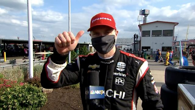 IndyCar: Bommarito Automotive Group 500 Race 1 - Scott Dixon's interview