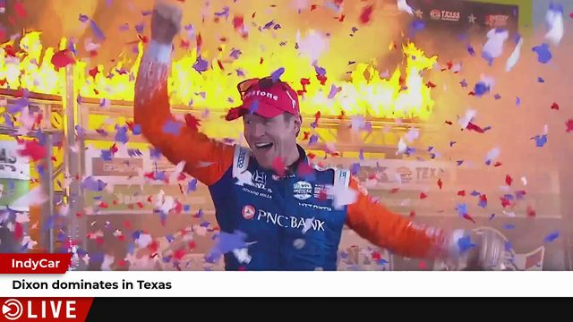IndyCar: Dixon dominates in Texas