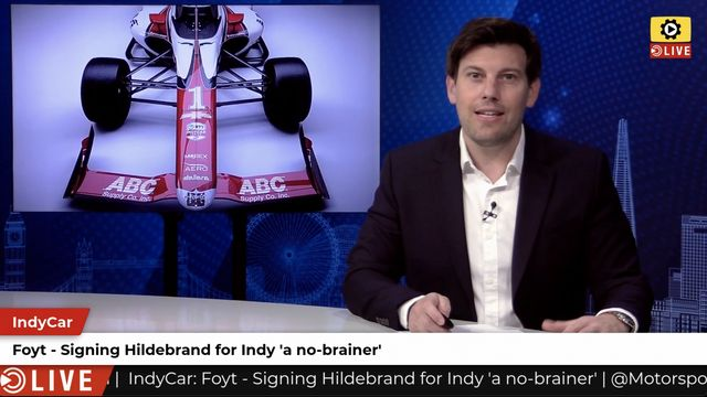 IndyCar: Foyt signs Hildebrand for Indy