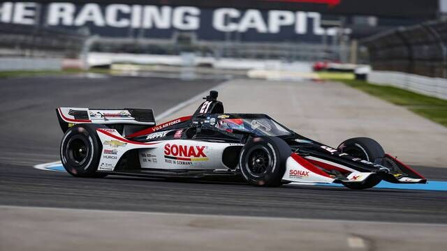 IndyCar: Harvest GP Race 1 Qualifying - Rinus VeeKay on pole