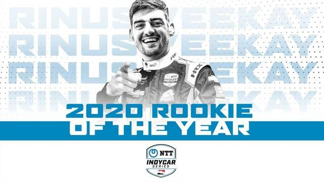 IndyCar Rookie of the Year: Rinus Veekay