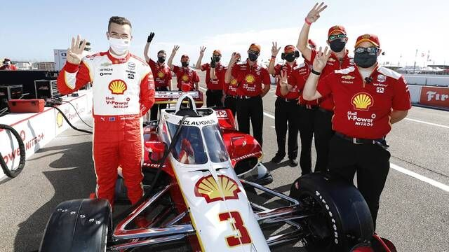 IndyCar: Scott McLaughlin's rookie testing