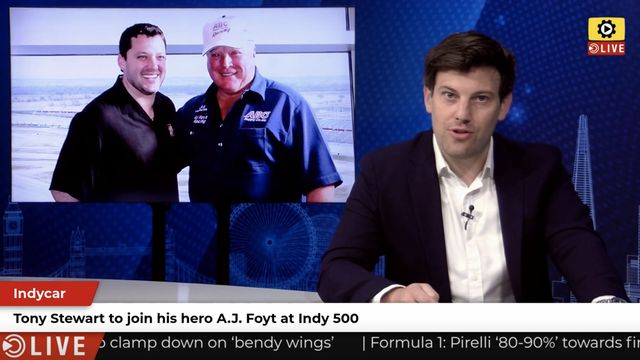 IndyCar: Stewart joins A.J. Foyt at Indy 500