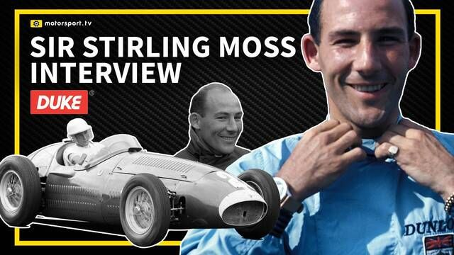 Interview: Sir Stirling Moss at Retromobile Car Show 2008