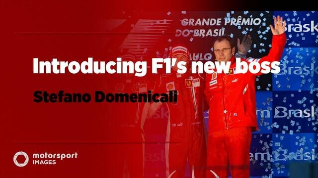 Introducing F1's new boss Stefano Domenicali