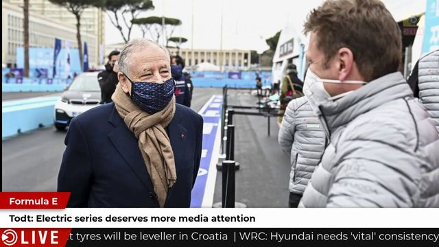 Jean Todt calls for better media coverage of Formula E