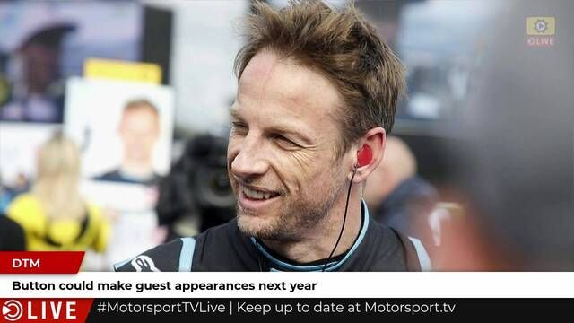 Jenson Button could guest in DTM