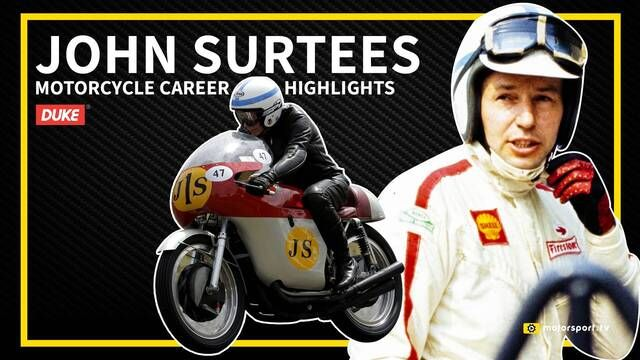 John Surtees' incredible Motorcycle Grand Prix career